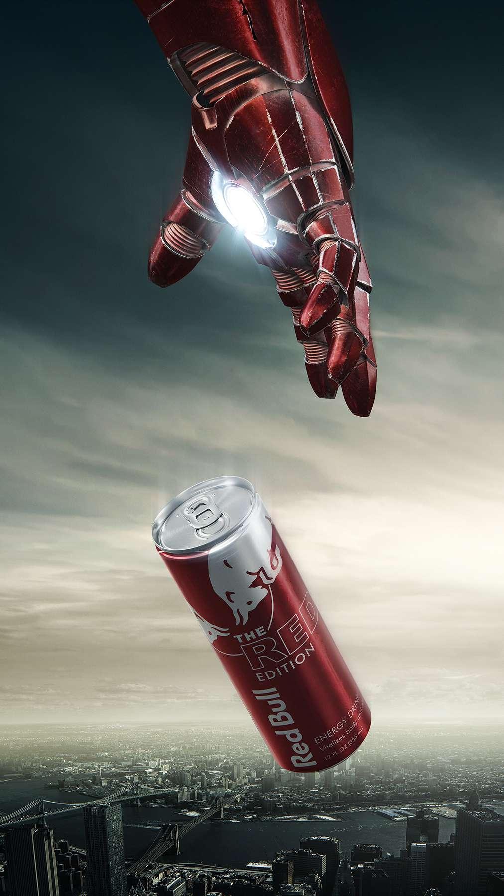 Avengers RedBull iPhone Wallpaper