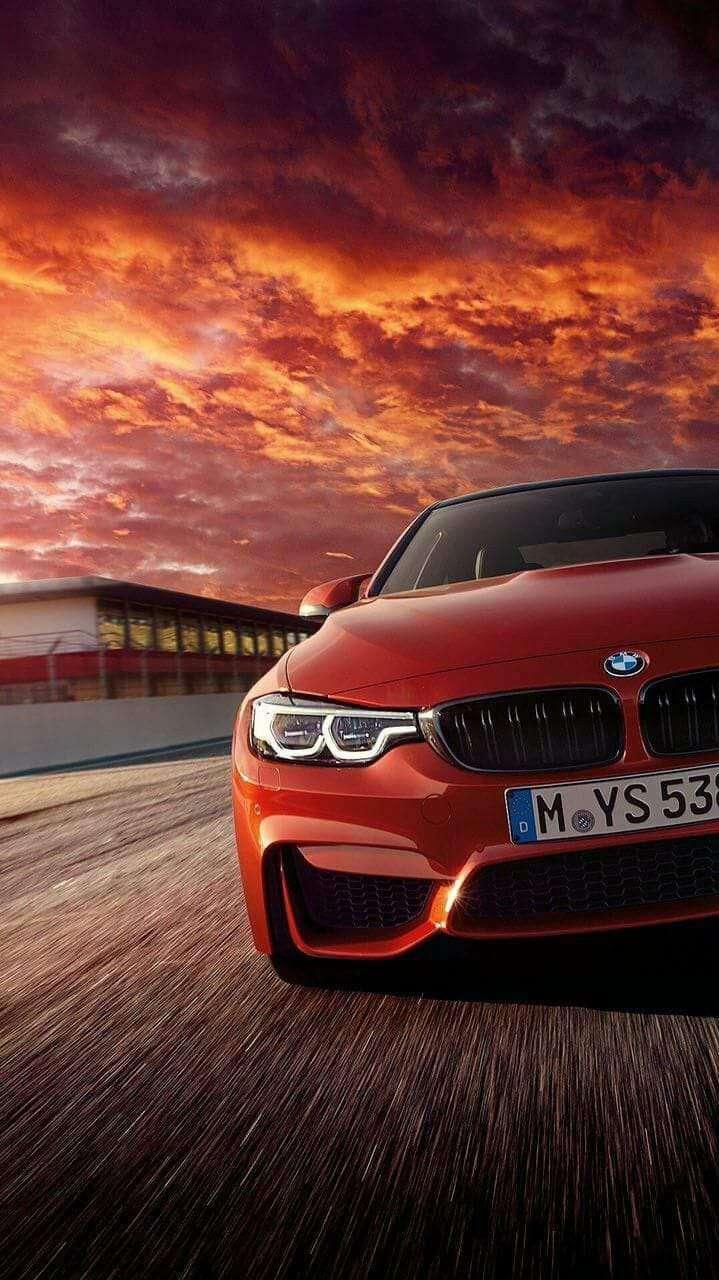 BMW HD Track Racing iPhone Wallpaper