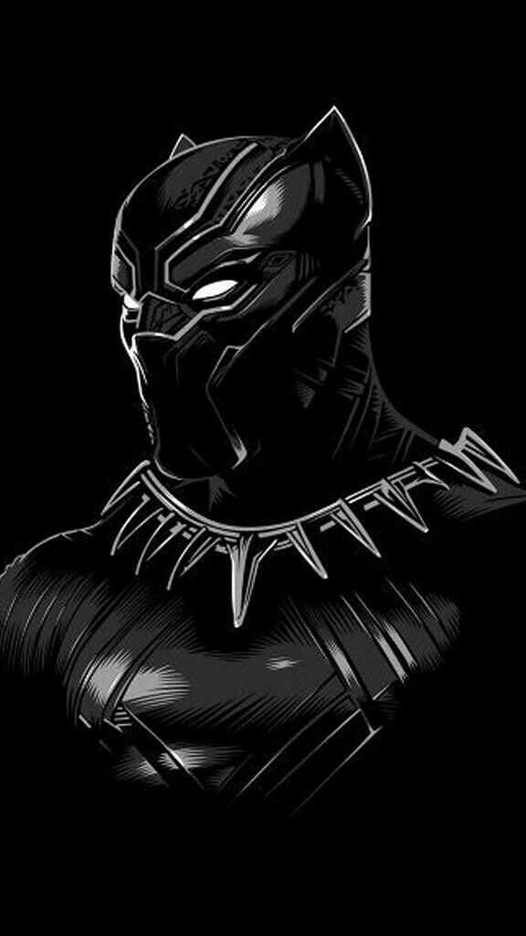 Black Panther Classic Suit iPhone Wallpaper