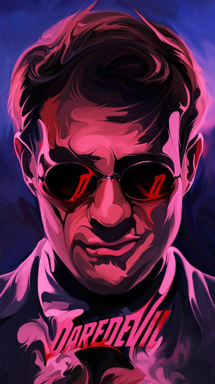 Daredevil Poster iPhone Wallpaper