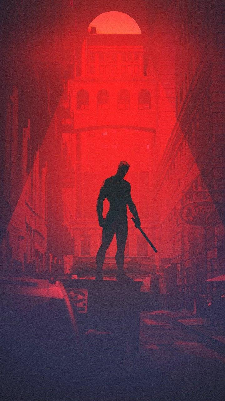 Daredevil Series iPhone Wallpaper