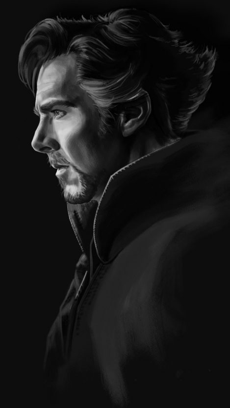 Doctor Strange Dark iPhone Wallpaper