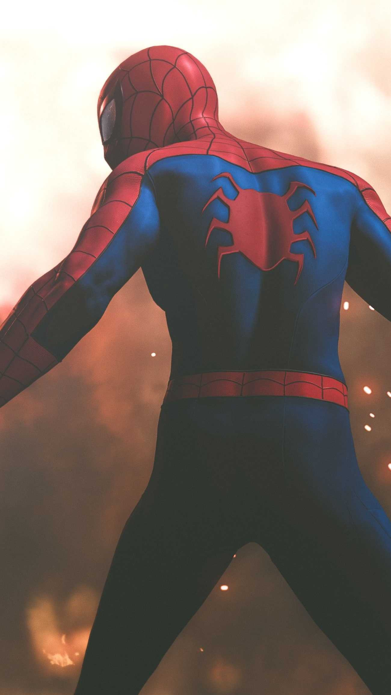 Far From Home iPhone Wallpaper