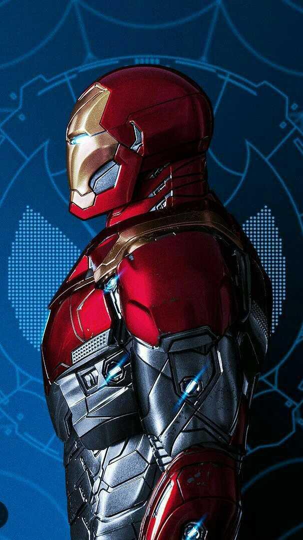 Iron Man Armor Prototype iPhone Wallpaper