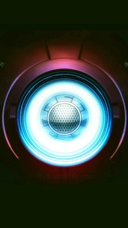 Iron Man Mark 1 Reactor iPhone Wallpaper