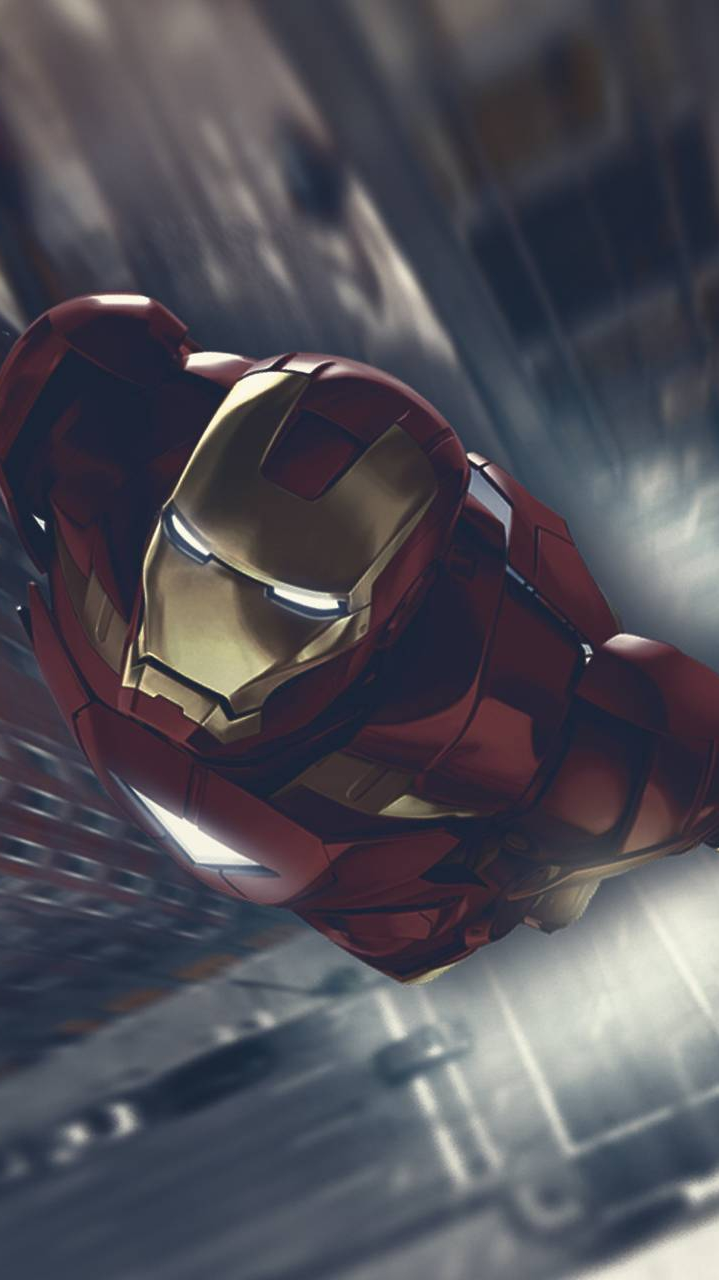 Iron Man Mark VI iPhone Wallpaper