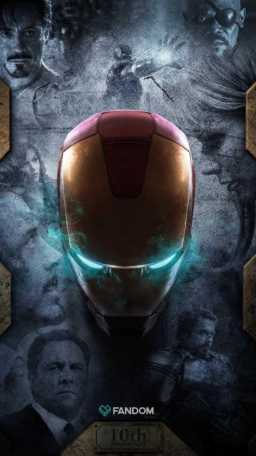Iron Man Memories iPhone Wallpaper