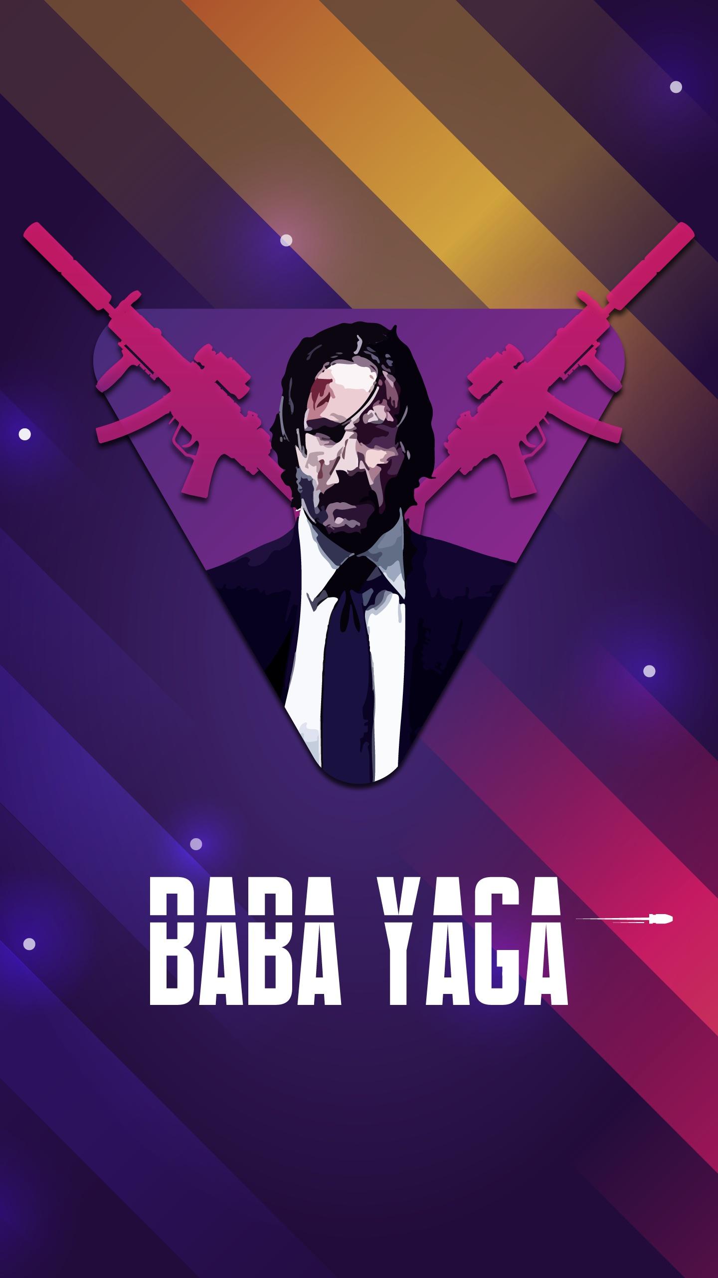 John Wick Baba Yaga iPhone Wallpaper