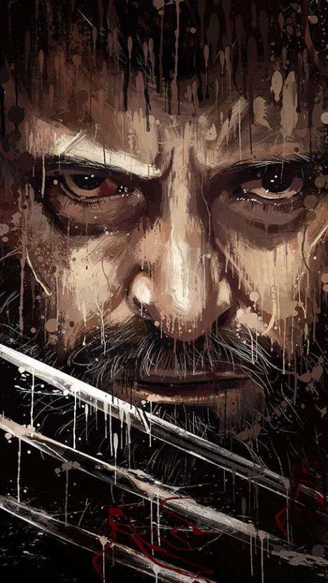 Logan Wolverine Art Iphone Wallpaper Iphone Wallpapers