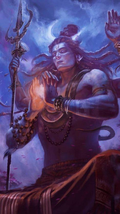 Lord_Shiva Meditation iPhone Wallpaper  iPhone Wallpapers