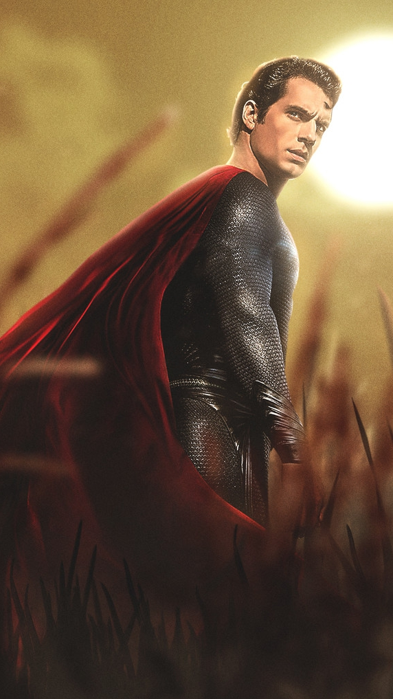 Man of Steel iPhone Wallpaper