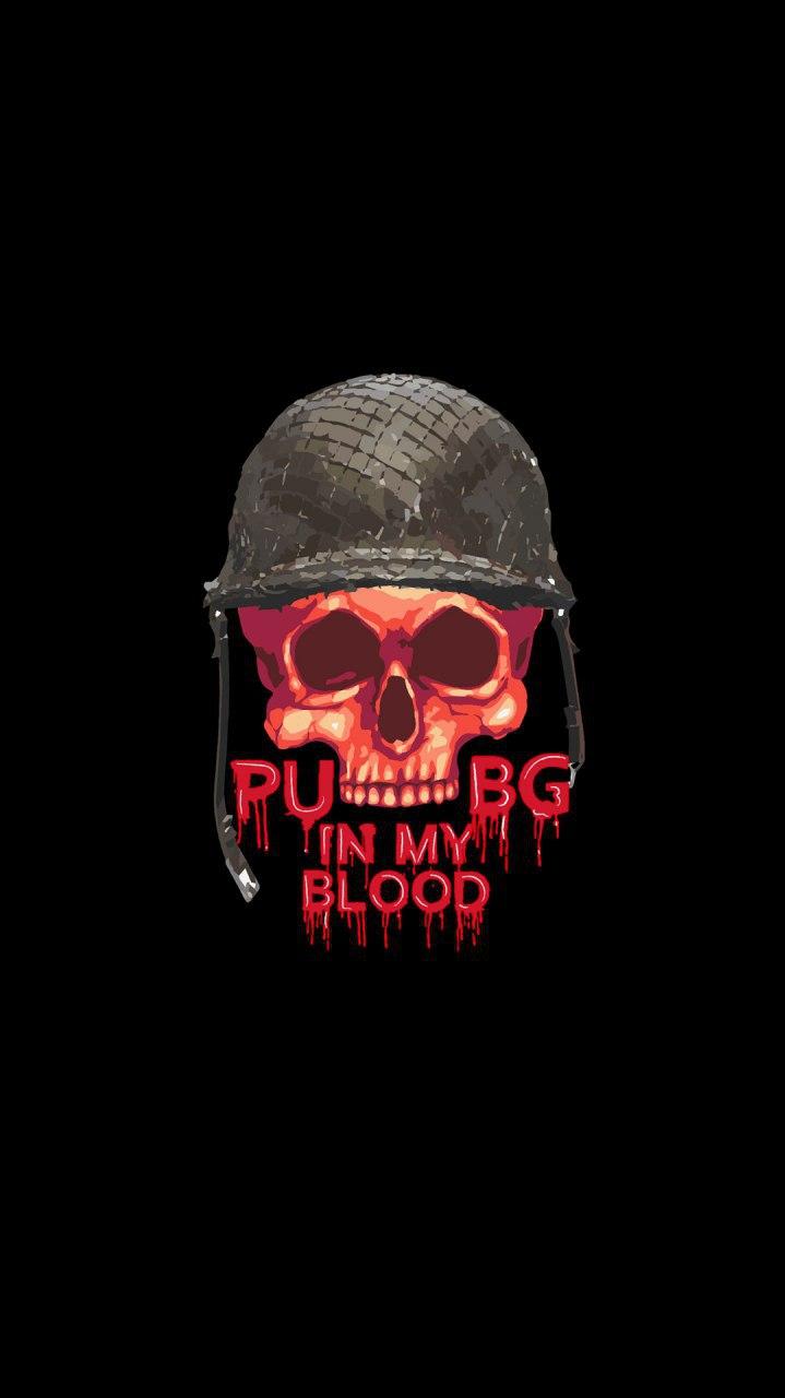 PUBG Skull iPhone Wallpaper