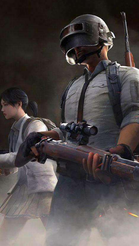 PUBG Sniper iPhone Wallpaper