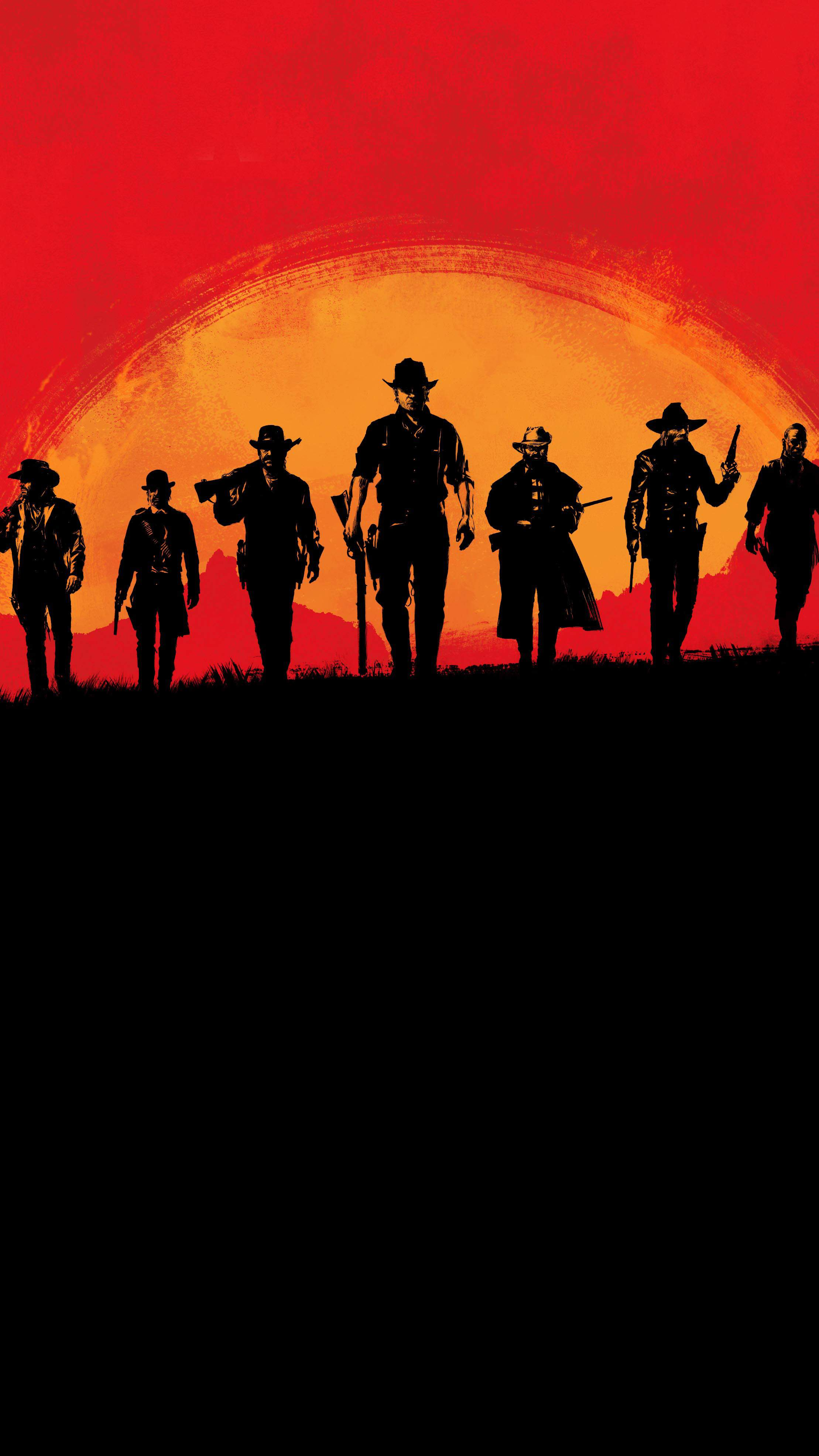 Red Dead Redemption 2 iPhone Wallpaper