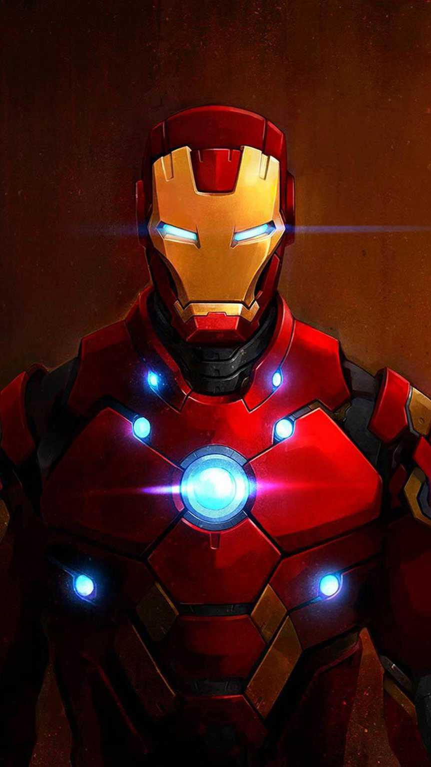 Red Iron Man iPhone Wallpaper