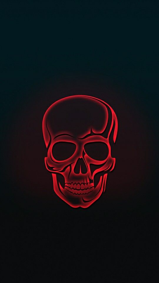 Red Skull Amoled iPhone Wallpaper - iPhone Wallpapers