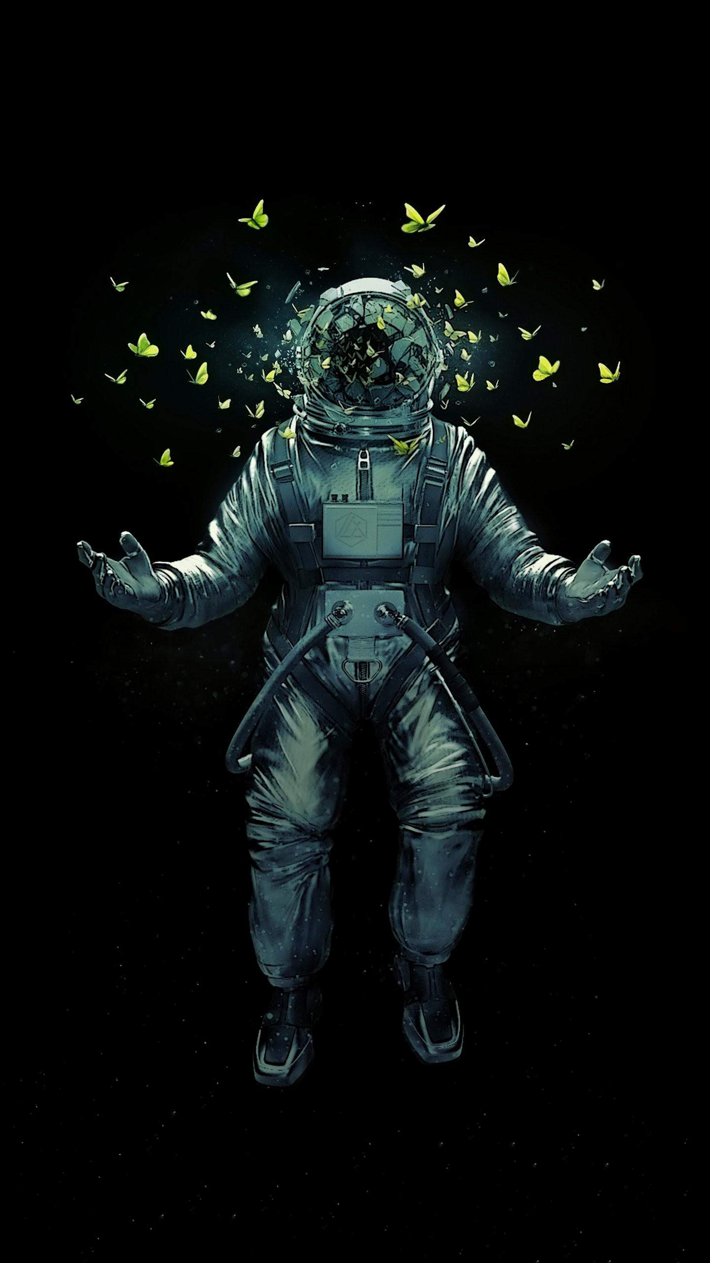 astronaut spacewalk for android - HD800×1200