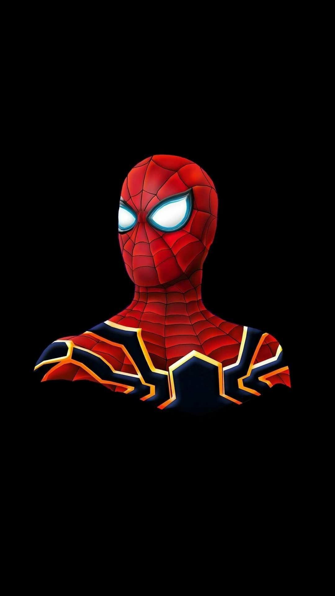 Spider Man Spider Armour iPhone Wallpaper