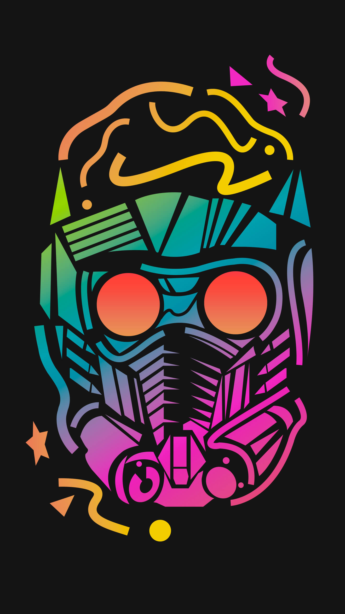 Starlord iPhone Wallpaper