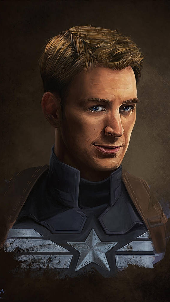 Steve Rogers Captain america Avengers Endgame iPhone Wallpaper