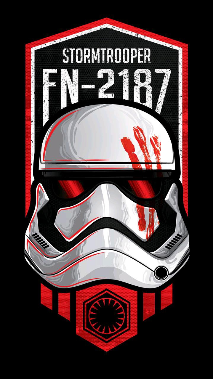 Stormtrooper galaxy iPhone Wallpaper