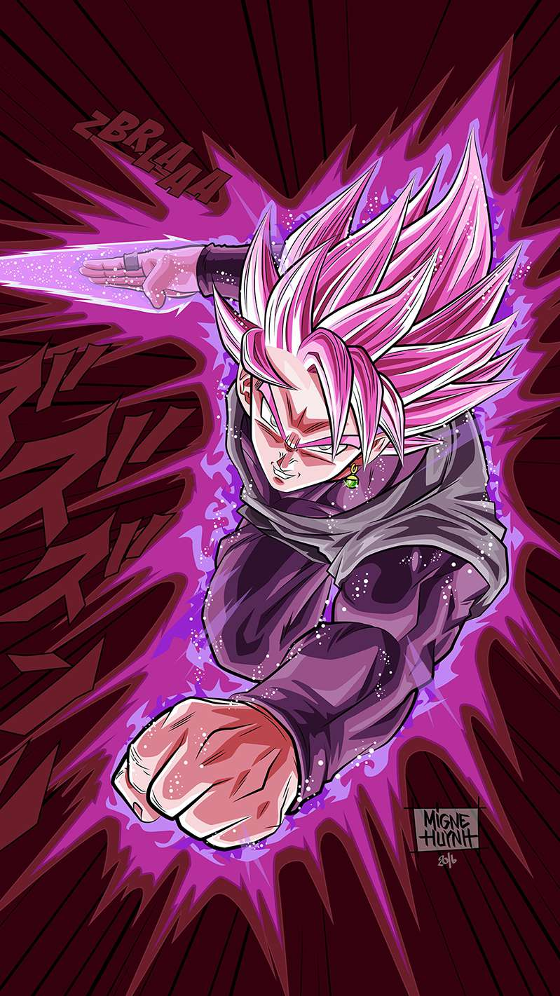 Super Saiyan Rose Dragon Ball Z Wallpaper