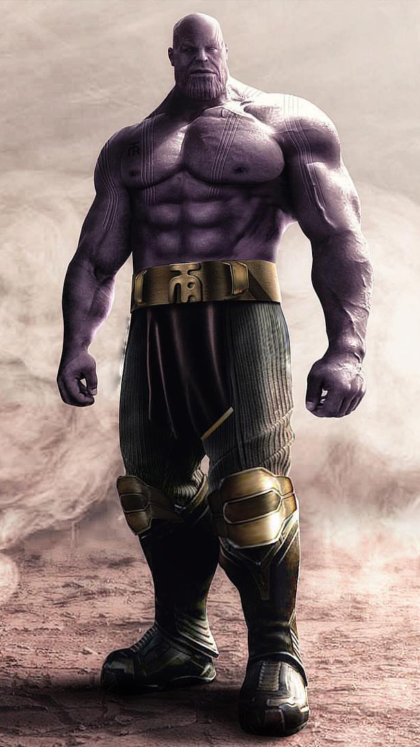 Thanos Muscles Iphone Wallpaper Iphone Wallpapers