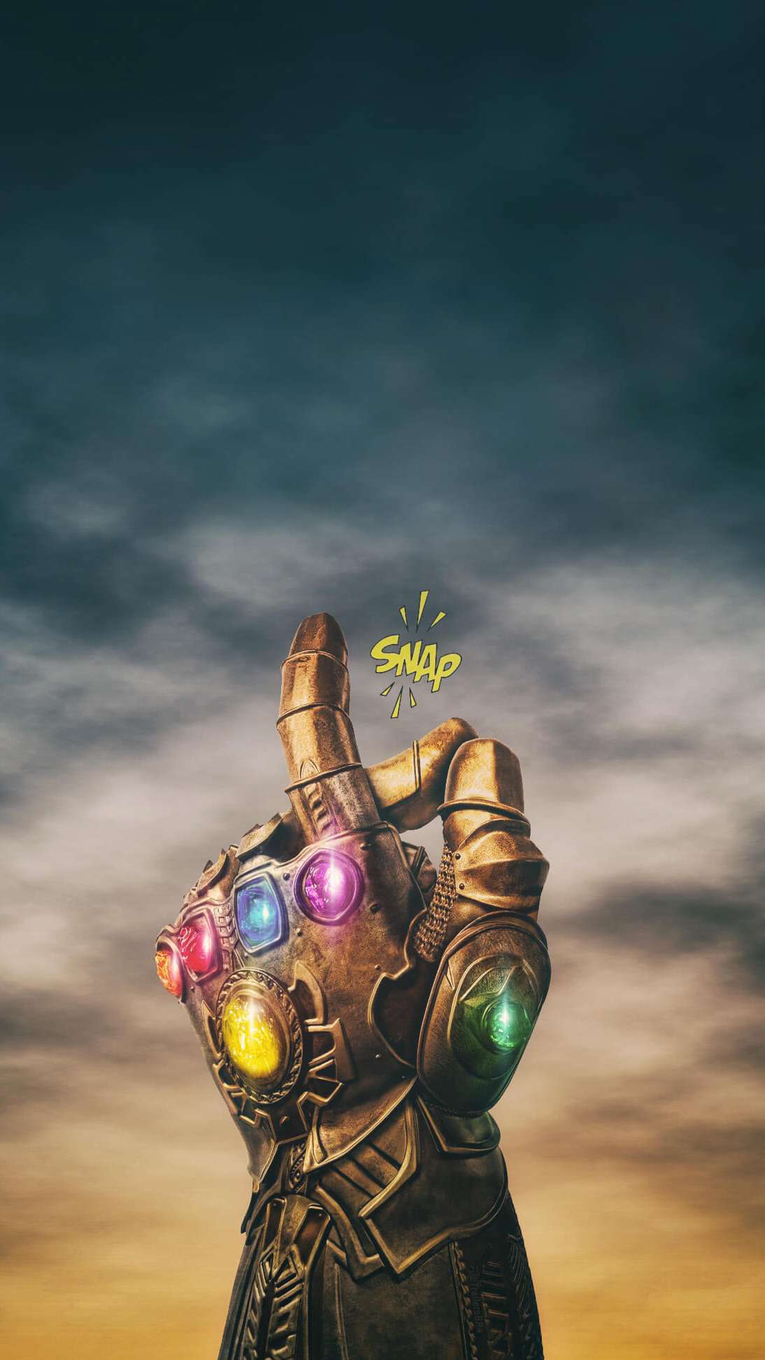 Thanos Snap iPhone Wallpaper - iPhone Wallpapers