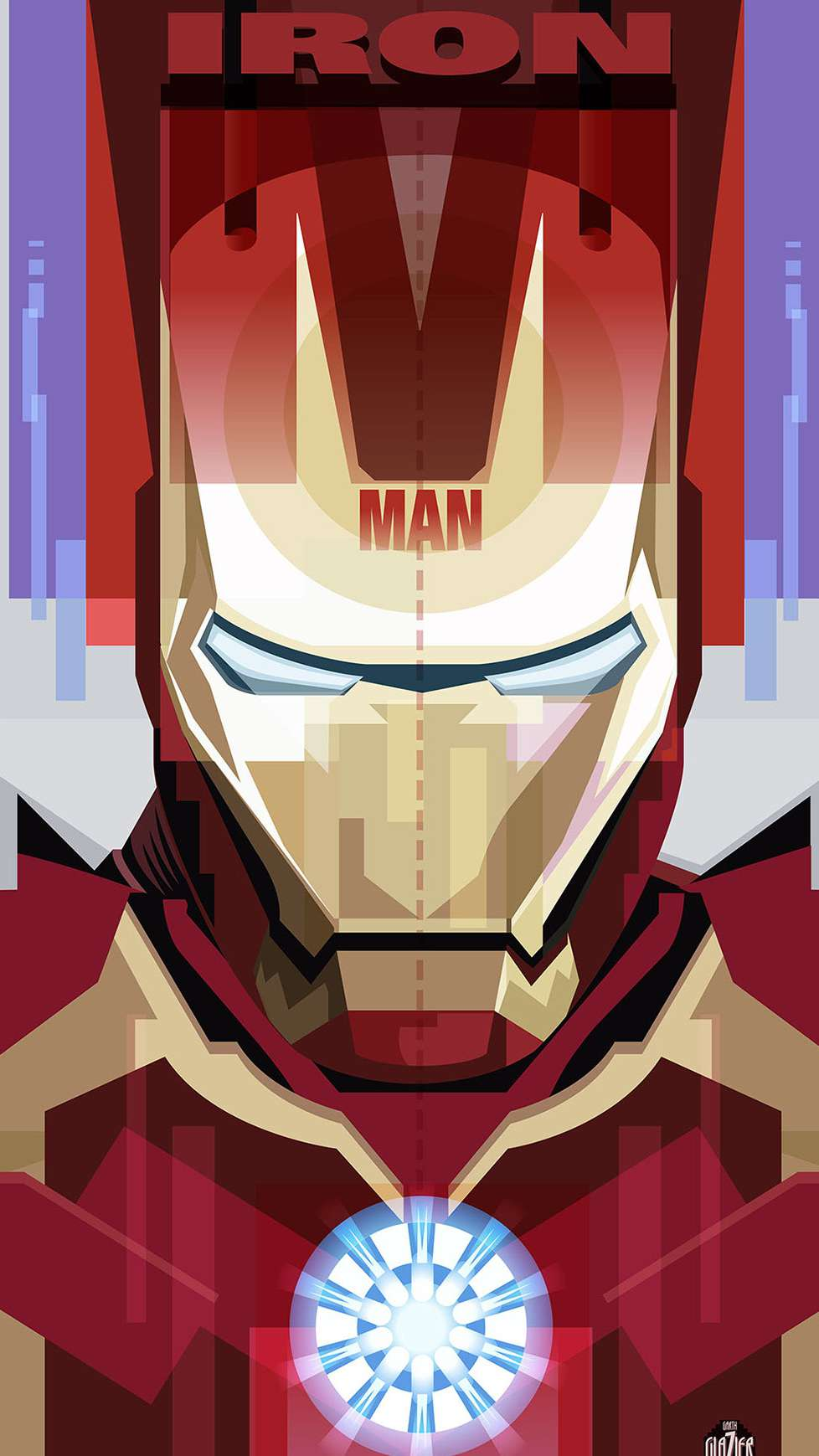 The Iron Man Poster iPhone Wallpaper