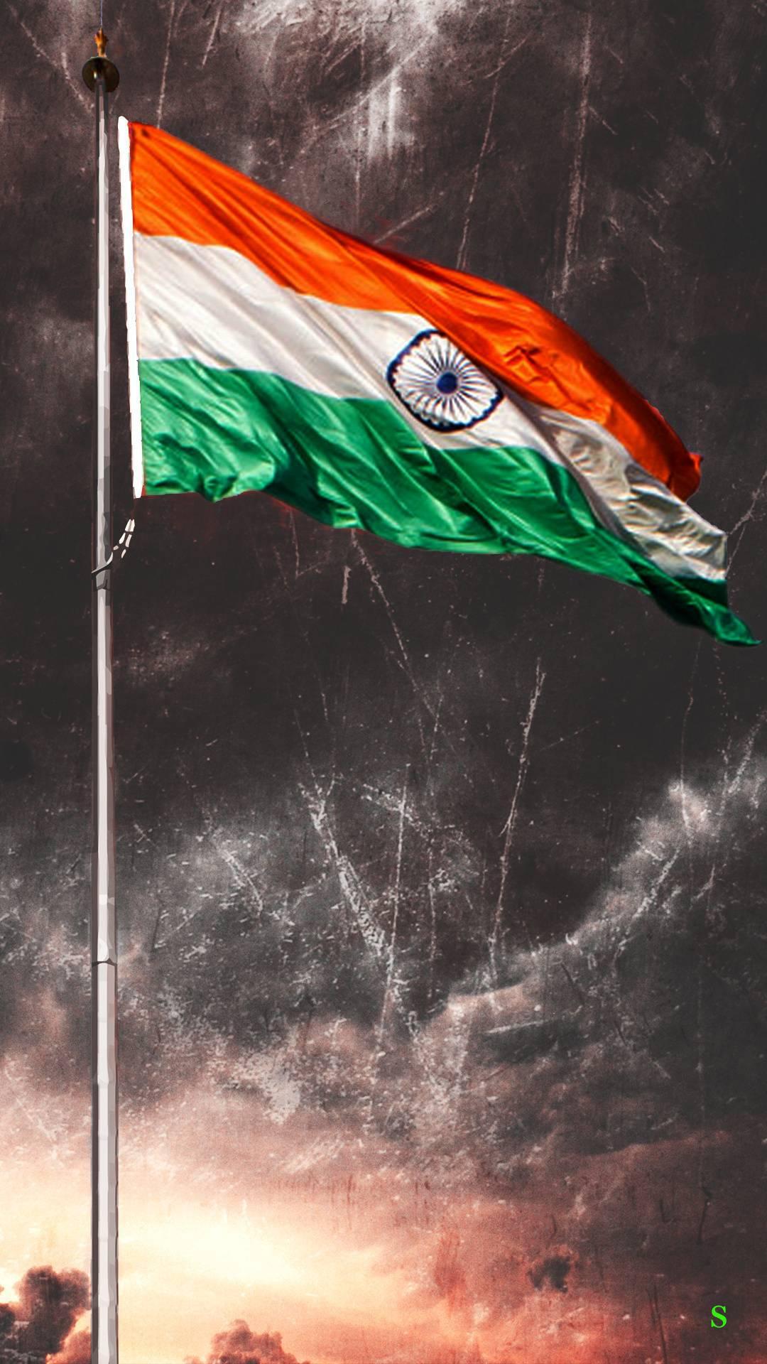 Tiranga Flag iPhone Wallpaper