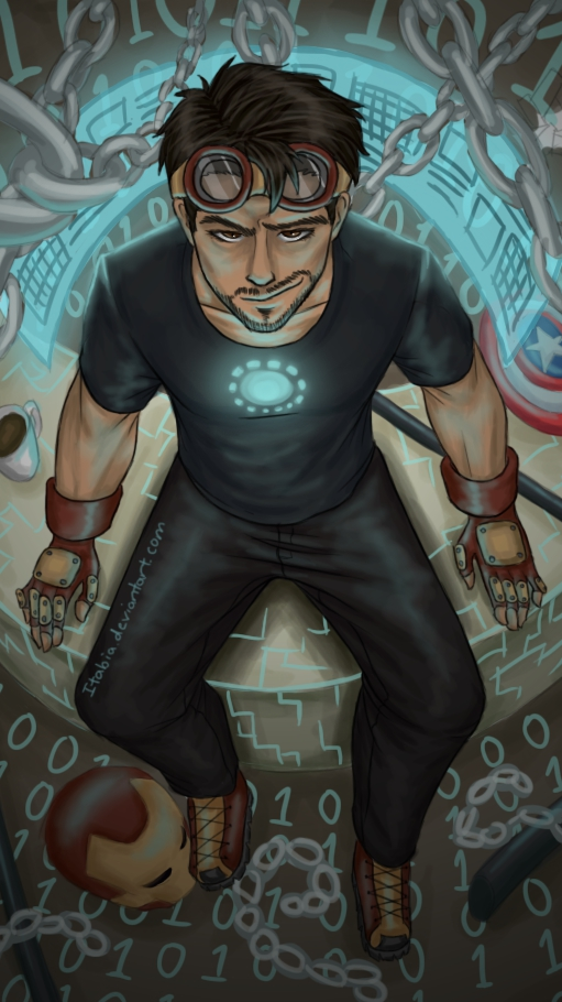 Tony Stark Avengers iPhone Wallpaper