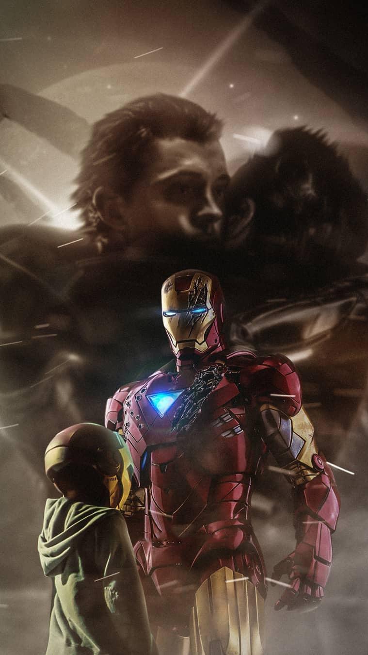 Tony Stark Love for Spider Man