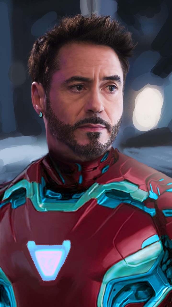 Tony Stark New Look iPhone Wallpaper