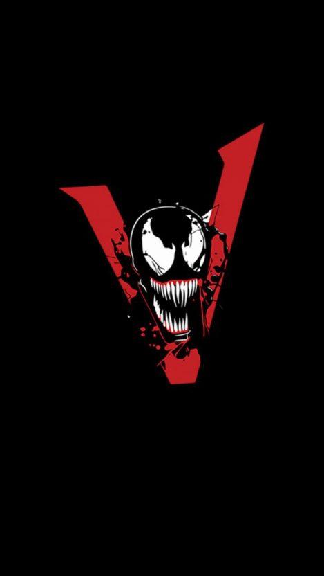 Venom Movie Art iPhone Wallpaper