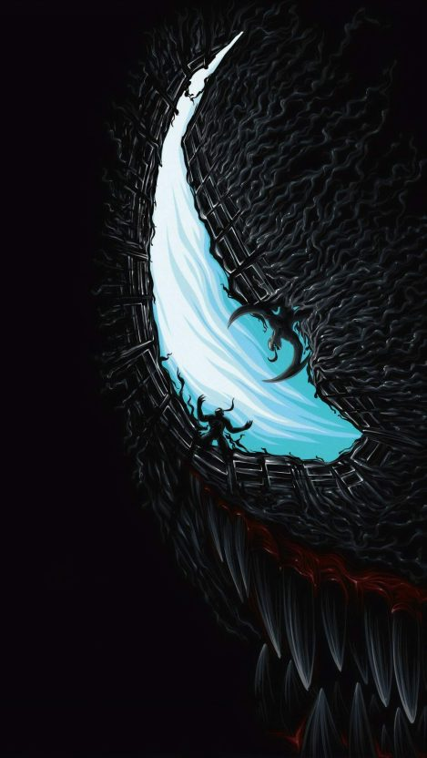 Venom Movie Artwork iPhone Wallpaper