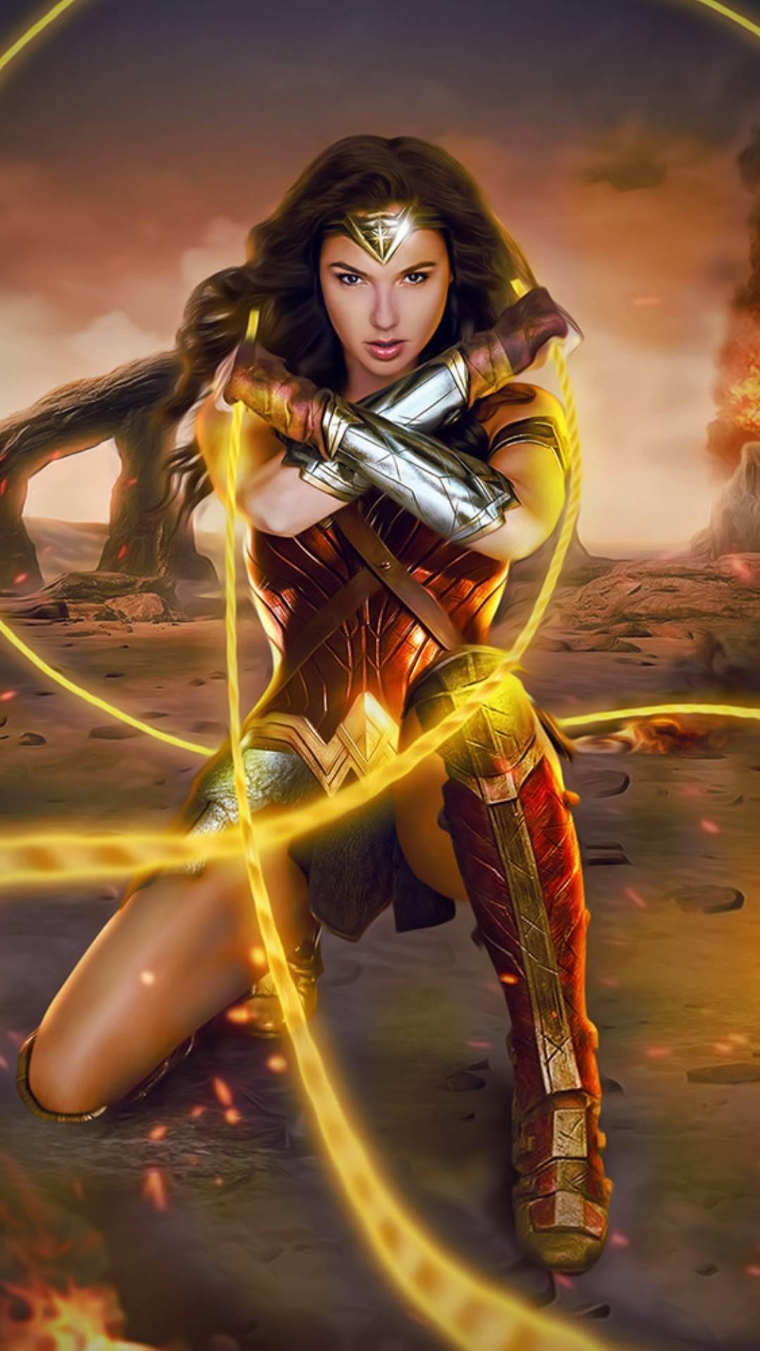 Wonder woman DC iPhone Wallpaper