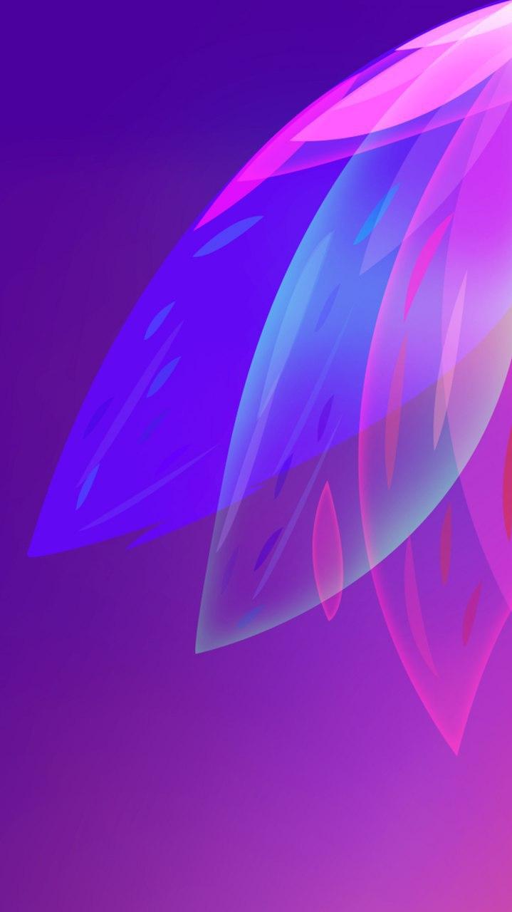 Abstract Design Art Flower iPhone Wallpaper