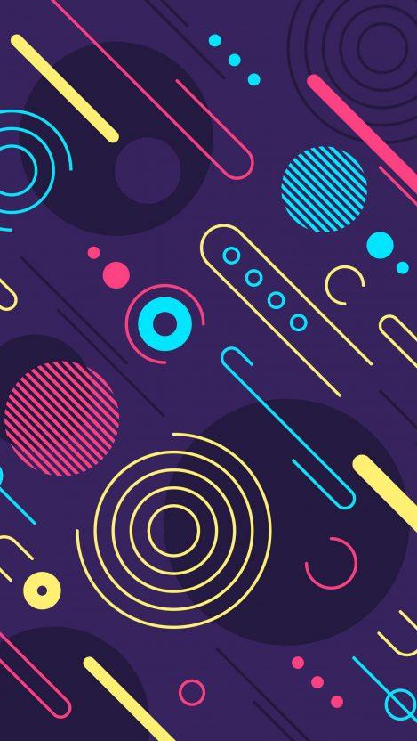 Abstract Design Minimal iPhone Wallpaper