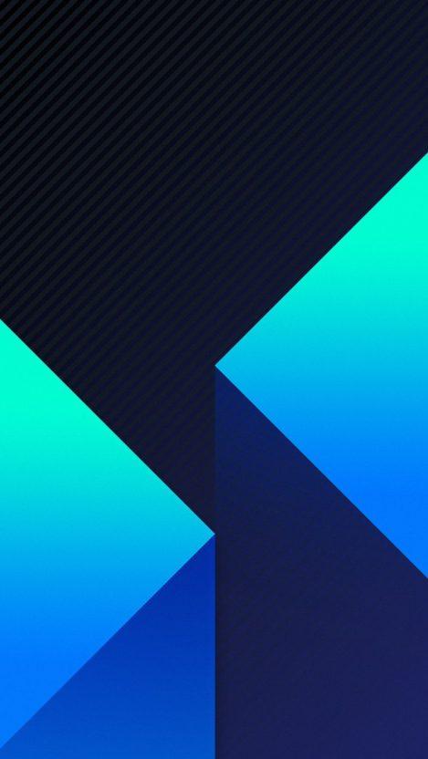 Amoled Blocks iPhone Wallpaper
