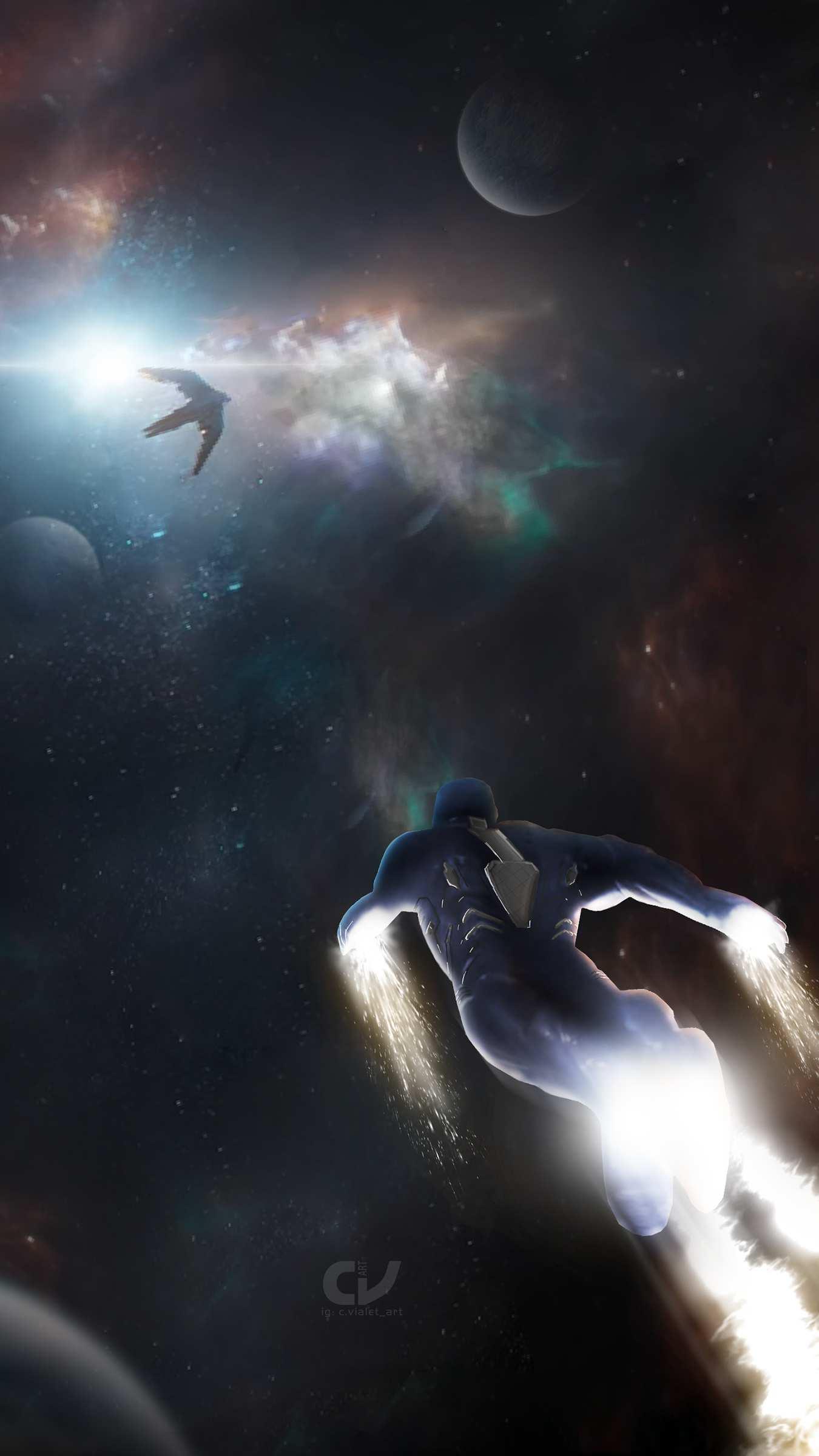 Avengers Endgame Tony Stark Rescue Wallpaper