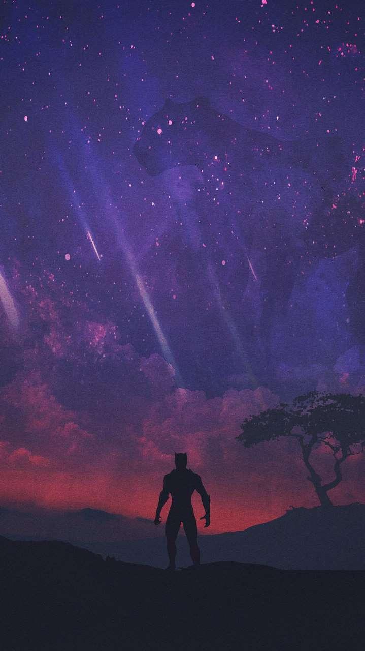 Black Panther World iPhone Wallpaper