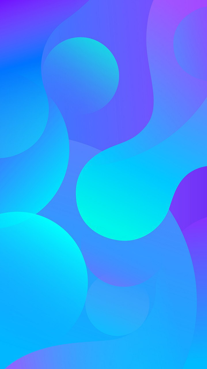 Blue Amoled HD iPhone Wallpaper