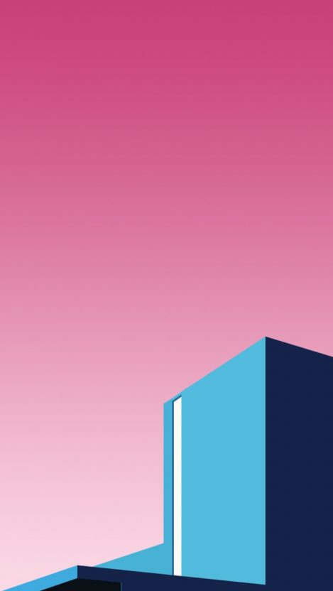 Building Blocks Minimal iPhone Wallpaper