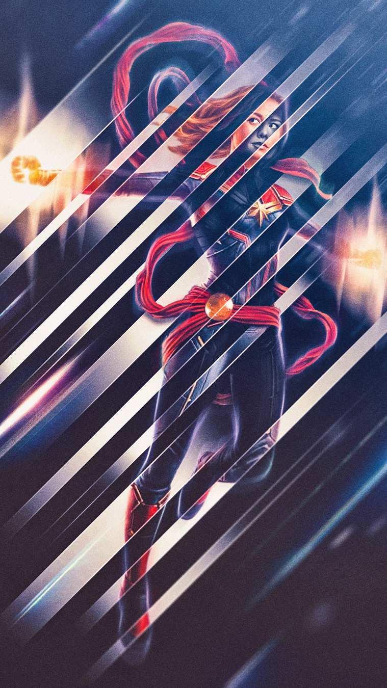 Captain Marvel Art Wallpaper