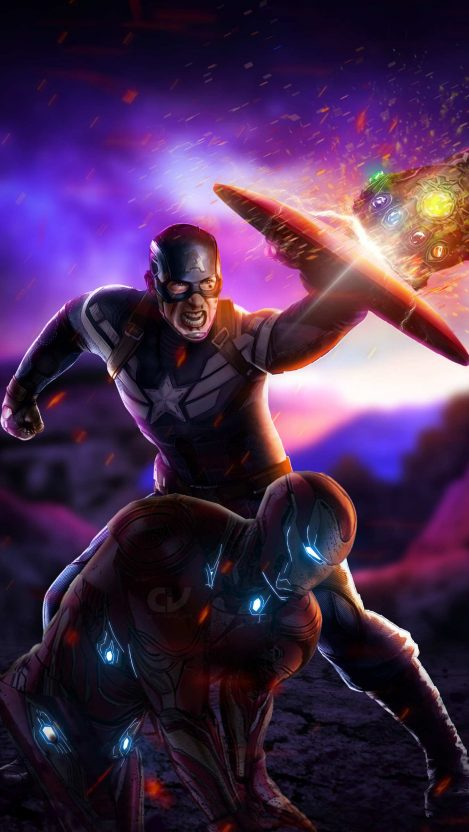 Captain America Hd Wallpaper In Endgame