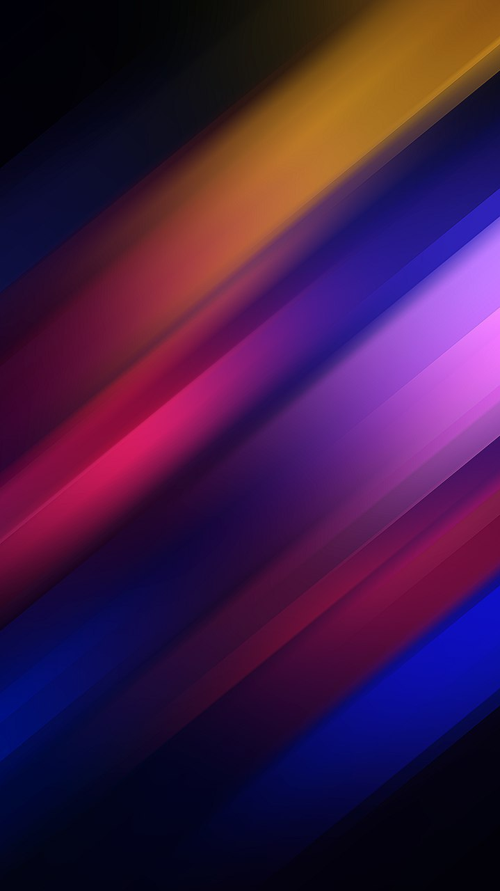 Colorful Rays Abstract iPhone Wallpaper