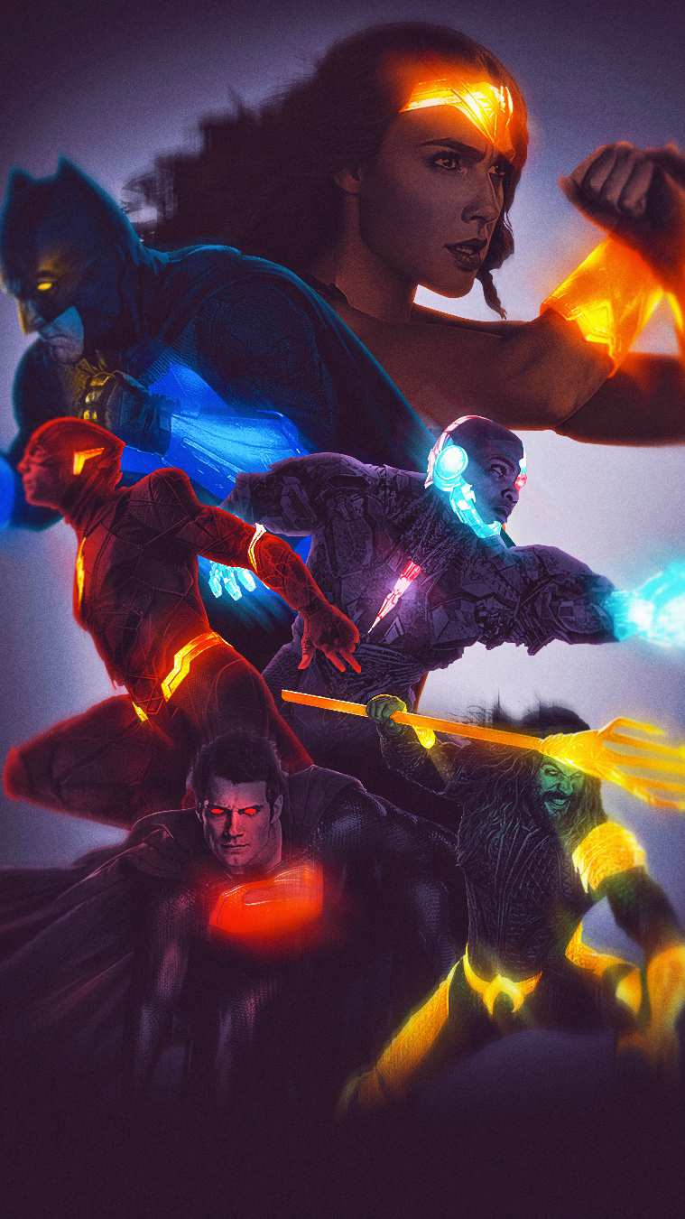 DC Superheroes iPhone Wallpaper