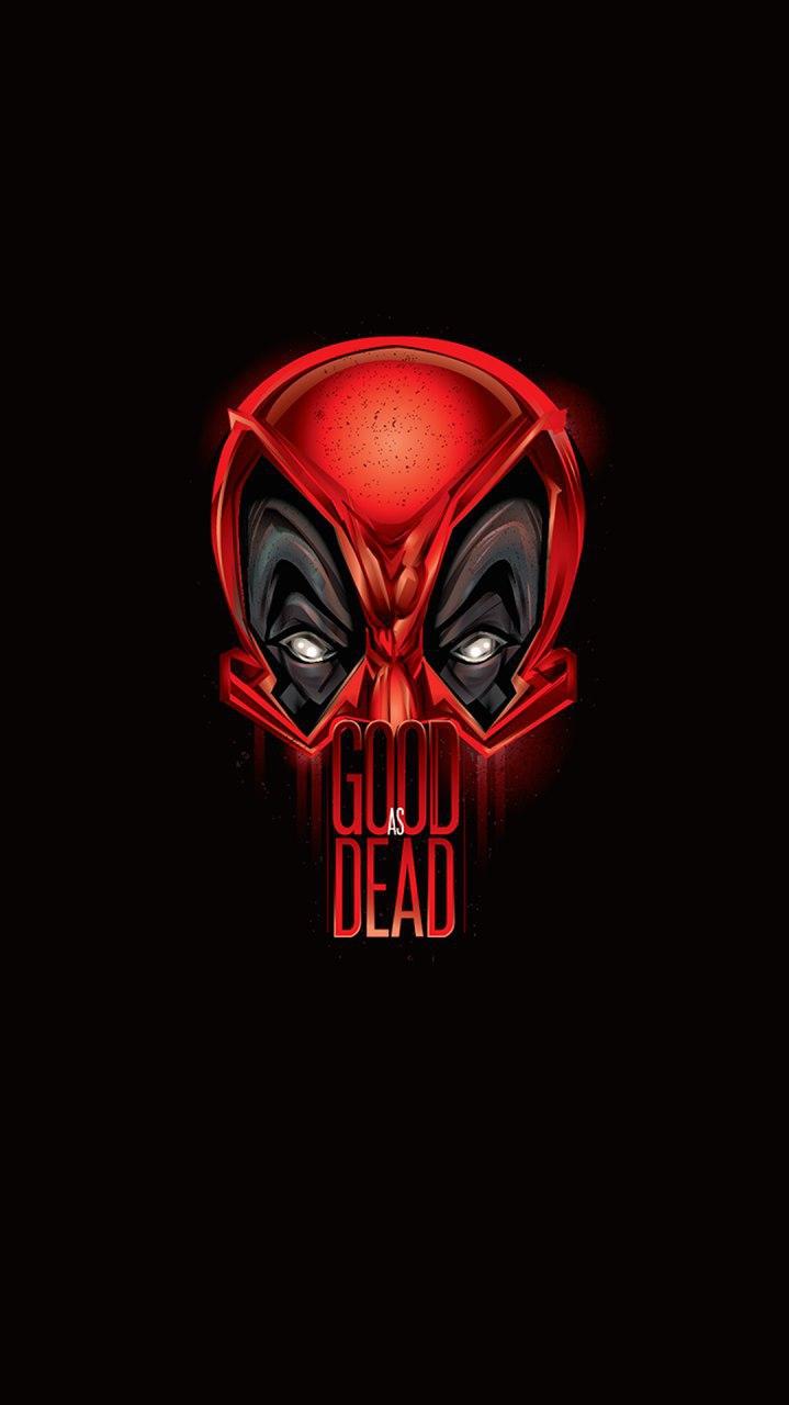 Deadpool Good as Dead iPhone Wallpaper