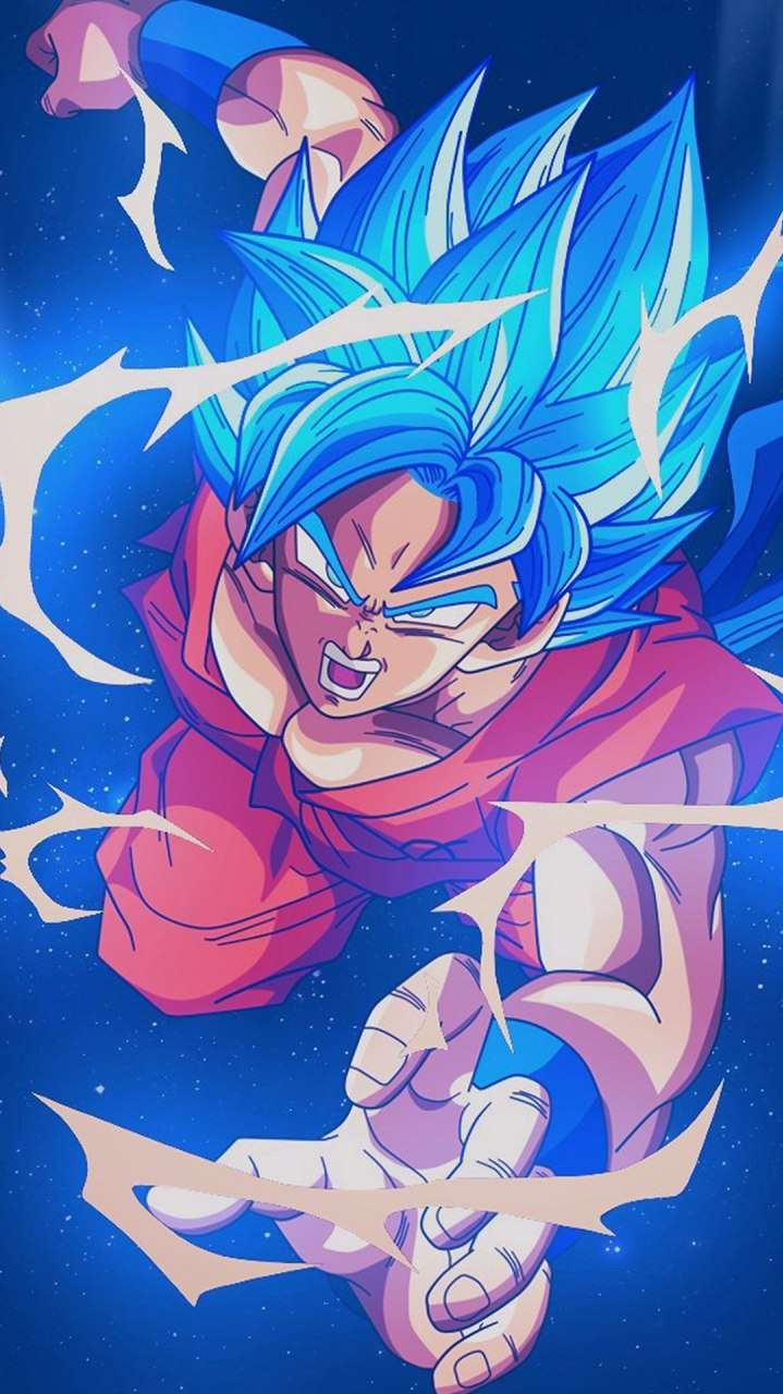 Dragon Ball Goku Super Saiyan iPhone Wallpaper