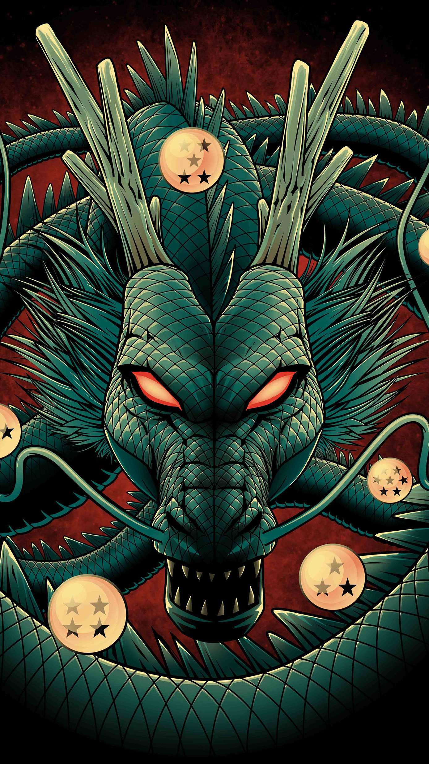 Dragon Ball iPhone Wallpaper